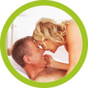 Abbildung von einem Mann und einer Frau im Bett